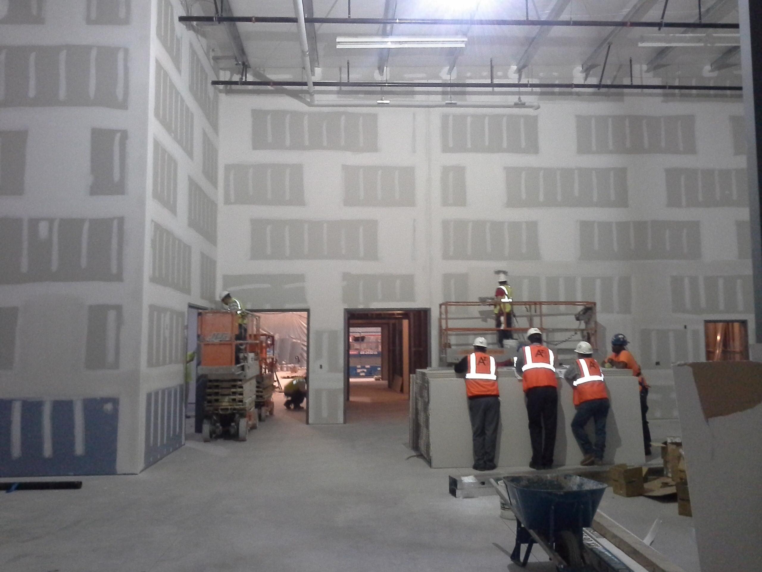 Exterior Wall Interior : Services interior building contractors