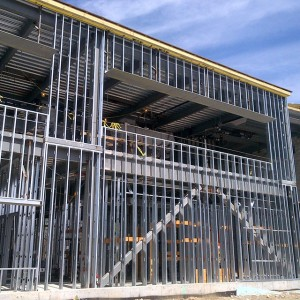 EXTERIOR AND INTERIOR METAL STUD FRAMING